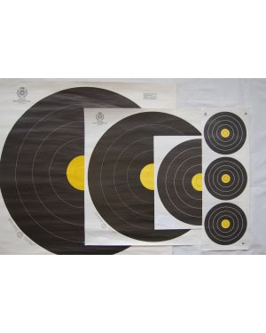 FIELD FACES World Archery 20cm 3-Spot Auflagen