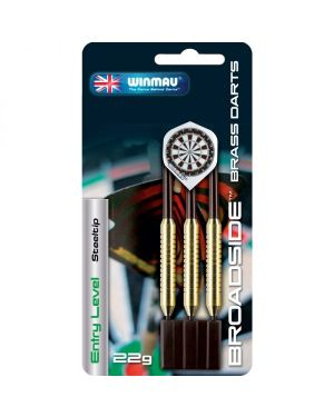 Winmau Broadside Brass Steeldart 22gr